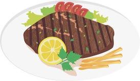 Steakfleisch Lizenzfreies Stockfoto