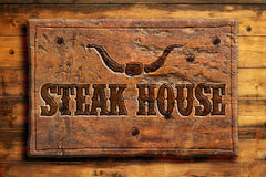 steakhouse illustrazione vettoriale