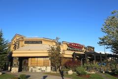 Steakhouse en barrestaurant Royalty-vrije Stock Afbeelding