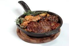 Steakrindfleisch Lizenzfreie Stockbilder