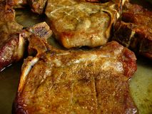 Steaks Stock Photography