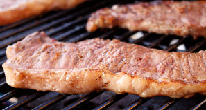 Steaks On The BBQ Stock Image