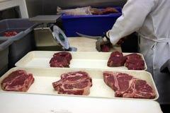 Steaks für bab B Q. Lizenzfreie Stockfotos