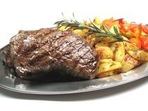 Steaks schließen oben Stockfotografie