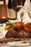 Steakzutritt Lizenzfreies Stockbild