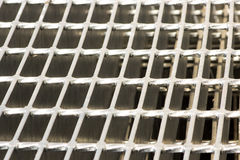Steal grating Stock Photography