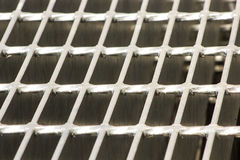 Steal grating Stock Photo