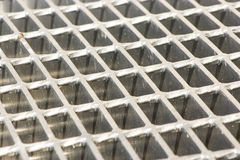 Steal grating Stock Photos