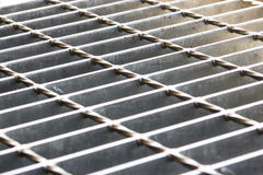 Steal grating Stock Images