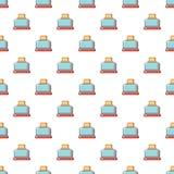 Steal toaster pattern seamless Stock Photos