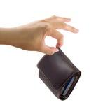 stealing πορτοφόλι κλοπής Στοκ εικόνα με δικαίωμα ελεύθερης χρήσης