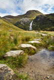 Steall Falls stock photo