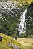 Steall Falls arkivfoton