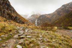 Steall Waterfall - Scotland Royalty Free Stock Photo