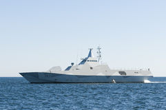 Stealth corvette Visby-class Royalty Free Stock Images