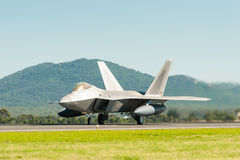 Stealth fighter Royalty Free Stock Photos