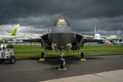 Stealth multirole fighter Lockheed Martin F-35 Lightning II. Stock Images