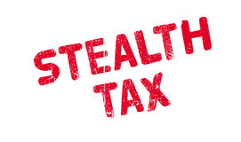 Stealth Tax rubber stamp Royalty Free Stock Photography