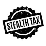 Stealth Tax rubber stamp Stock Photos