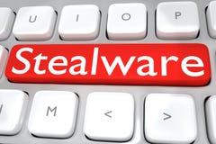 Stealware - media concept Stock Photos