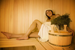 Steam bath Stock Photography