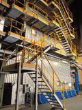 Steam boiler Stock Images