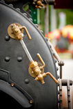 Steam Boiler Valves Royalty Free Stock Images