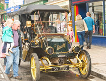 Steam car. Stock Photography