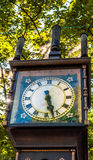 Steam clock of Gastown close view royalty free stock photos