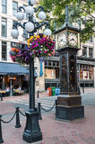 Steam Clock in Gastown Vancouver Stock Image