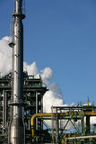 Steam from a coking plant Royalty Free Stock Image
