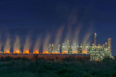 Steam cooling tower. Royalty Free Stock Images