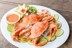 Steam crab seafood Royalty Free Stock Image
