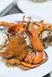 Steam crab Stock Photo