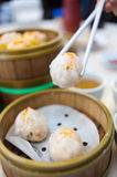 Steam dim sums II. An image of steam dim sums Stock Photography