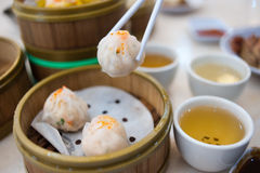 Steam dim sums III Royalty Free Stock Photos