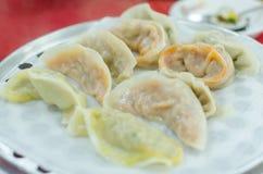 Steam dumpling for serve Stock Photos