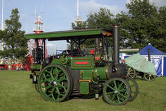 Steam Engine. At 'de Vestingdagen' in Hellevoetsluis, The Netherlands royalty free stock photos