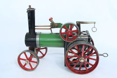 Steam engine. Toy steam engine Stock Photography