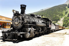 Steam Engine 481 and Haul Royalty Free Stock Photo