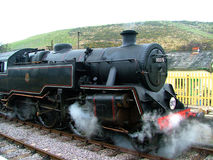 Steam Engine. Steam Train at Swanage Railway station royalty free stock images