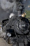 Steam engine. A steam engine in Durango, Colorado royalty free stock photography