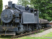 Steam engine. Royalty Free Stock Image