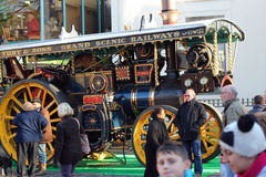 Steam engine,Bedford. Royalty Free Stock Image