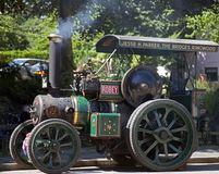 Steam Engine at Burley in the New Forest. Hampshire Stock Photos