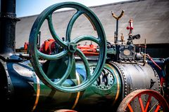 Steam Engine Closeup stock photo