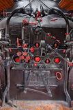Steam engine control panel Royalty Free Stock Photo