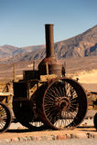 Steam Engine, Death Valley California Stock Photos