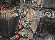 Steam engine detail Royalty Free Stock Image