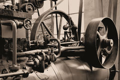 a steam engine Stock Photos